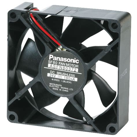 dc brushless fan 12v panasonic asfn86391 axial 12v dc brushless fan 3250 rpm 80
