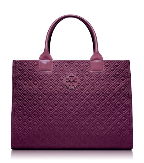 Quilting Tote by Burch Ella Quilted Tote In Purple Burgundy Lyst