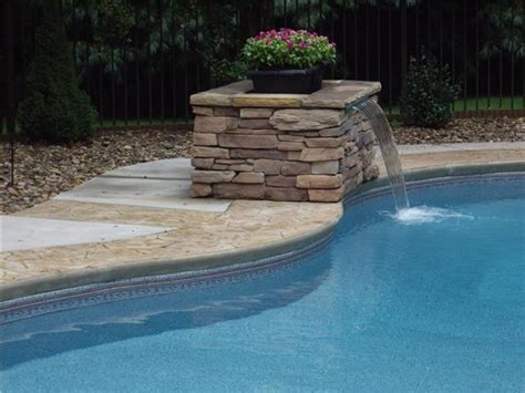 pool fountains and waterfalls 17 best images about swimming pool waterfalls on pinterest