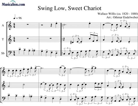 swing low noten just a closer walk with thee bearb othmar endelweber