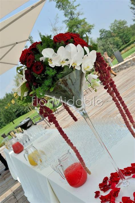Wedding reception in Italy: centerpieces photos & ideas