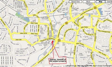 petaling jaya map petaling jaya map and petaling jaya satellite image