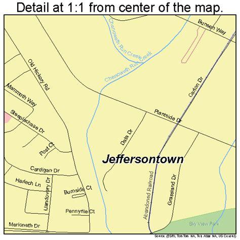 jeffersontown kentucky map jeffersontown kentucky map 2140222