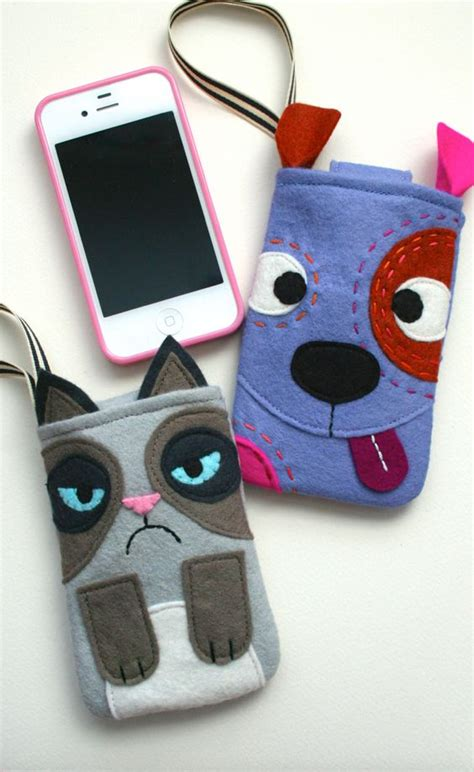 Gadget Cozies | dog and cat gadget cozies craft sewing and embroidery