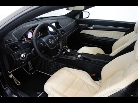 Mercedes Brabus Interior by 2010 Brabus Mercedes E V12 Coupe Interior 5