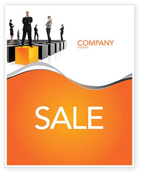 templates for sale posters leadership training progress sale poster template in