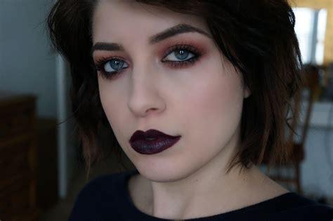 up 90s 90 s grunge makeup tutorial