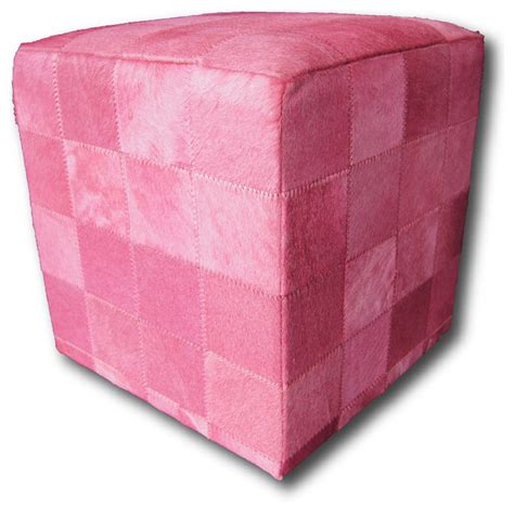 ottoman pink luxury pink ottoman on finest hide contemporary