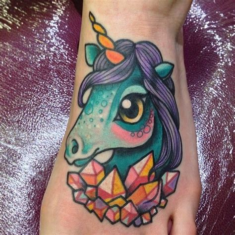New School Unicorn Tattoo | 42 best images about tattoo on pinterest girly tattoos