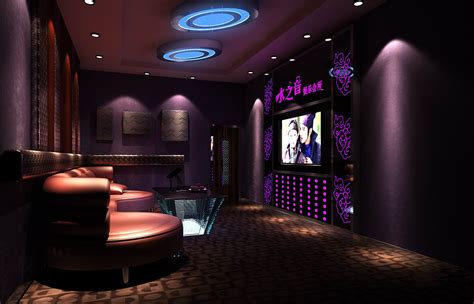 Luxurious restaurant vip lounge with tv 3d model max cgtrader com