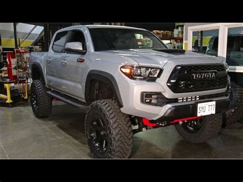 """2017 trd pro tacoma: 6"""" bds, 35"""" toyo mts on 20x9 fuel"""