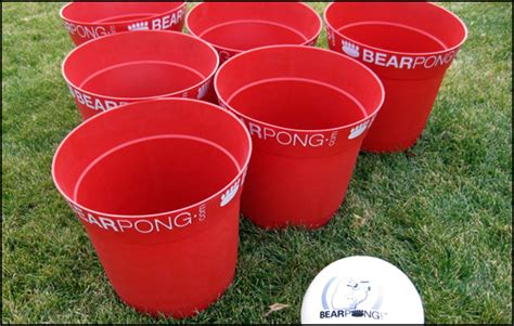 backyard beer pong bear pong game review outdoor beer pong outdoor game