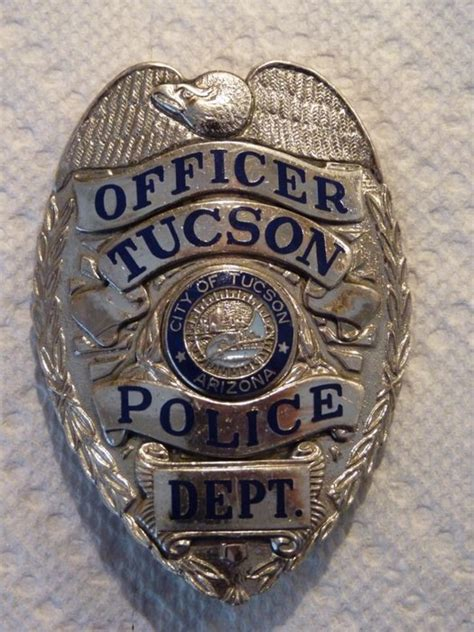 tucson police badge  walnut  lawrence  lumberjocks