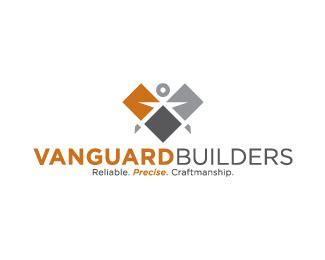 home builder logo design logopond logo brand identity inspiration vanguard