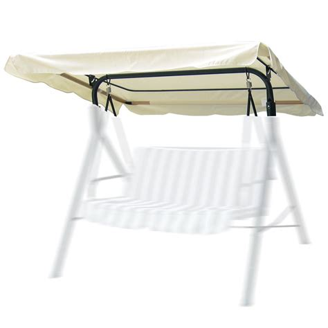 patio swing replacement seat 63 quot x47 quot outdoor garden swing canopy cover replacement