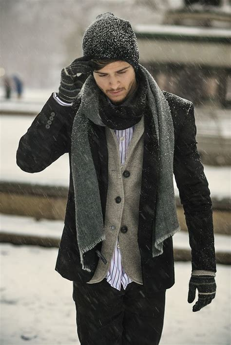 5 manly ways to wear a scarf how dress