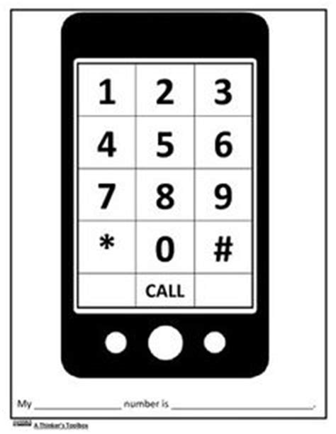 cell phone template printable training4thefuture.x.fc2.com