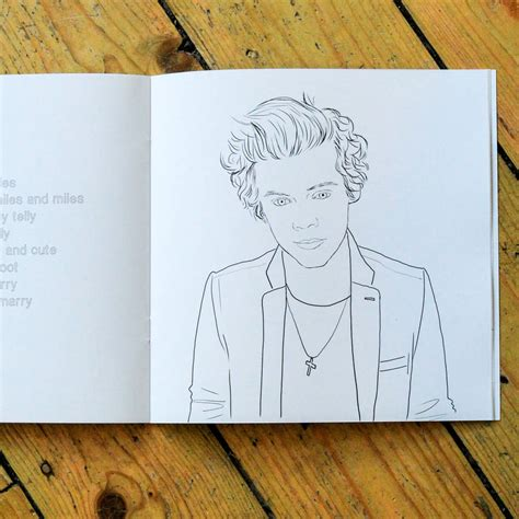 harry styles colouring book by colour me good by berylune