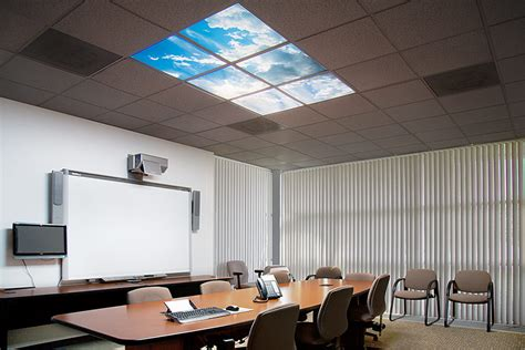 suspended ceiling led panel light multi led panel light display w skylenses 174 dimmable led
