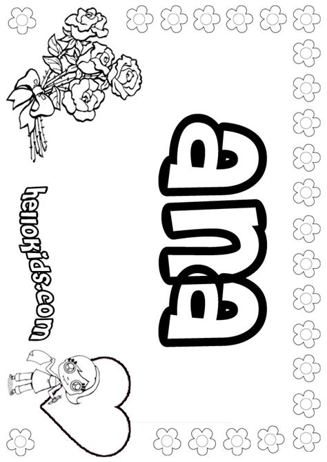 ana coloring pages hellokids com