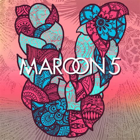 design cover maroon 5 maroon 5 album cover by daledreams