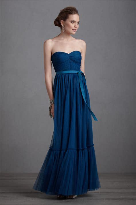 Blue Bridesmaid Dress by Navy Blue Bridesmaid Dress Gown Bhldn