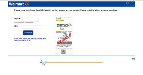 Walmart Survey Sweepstakes Rules - walmart survey guide customer survey assist