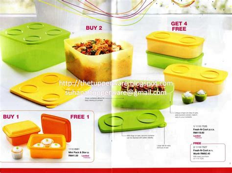 Tupperware Limited Edition tupperware brands malaysia catalogue collection