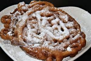funnel cakes recipe dishmaps