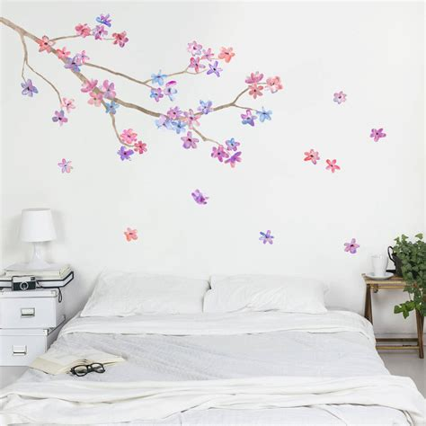 wall stickers blossom branch wall sticker by oakdene designs