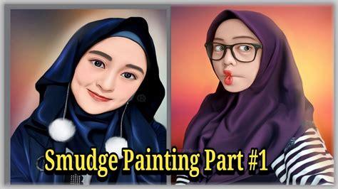 tutorial efek snapseed smudge painting android part 1 efek snapseed sketchbook