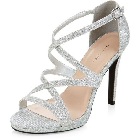 Hight Hells Silver 25 best ideas about silver high heels on prom