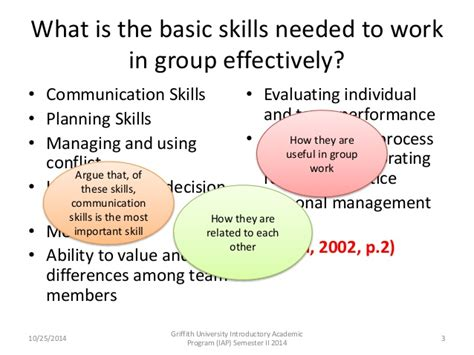 what is the basic skills needed to work