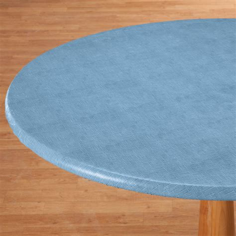 illusion side weave buy illusion weave vinyl elasticized table cover walter drake