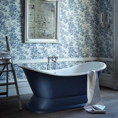 bathroom wallpaper ideas uk blue rooms colour scheme ideas