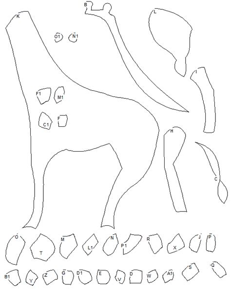 giraffe template free giraff mask coloring pages