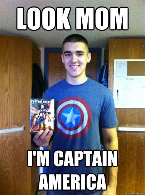 Captain America Kink Meme - look mom i m captain america captain america quickmeme