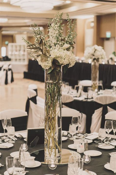 Black Vase Centerpiece Wedding by 1000 Images About Centerpieces On