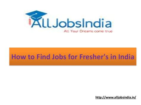 How To Find In India How To Find For Fresher S In India