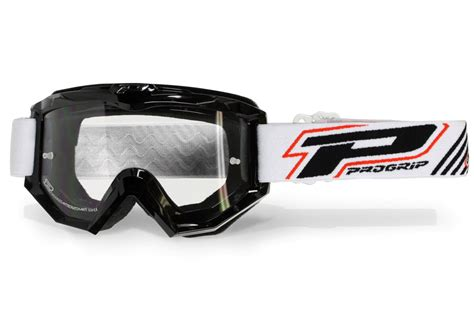 motocross goggles with progrip motocross mx goggles black