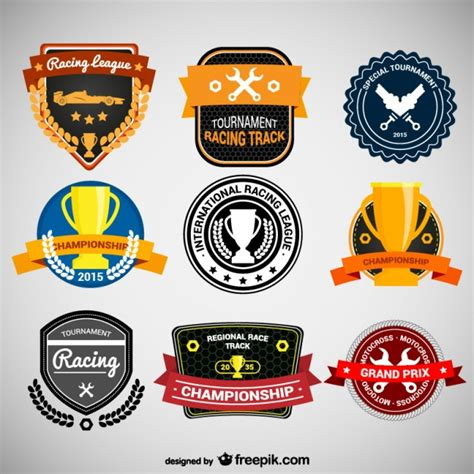 Car Sticker Design Free Download by Racing Stickers Collection Vector Free Download