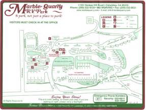 marble quarry rv park facilities map