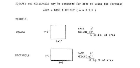 cross sectional area of a square figure 15 19 area of a triangle