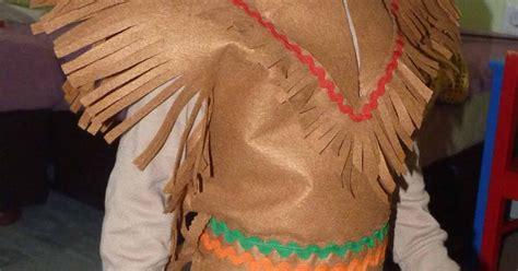 trajes de indio de material de desecho las cositas de marga c 243 mo hacer un disfraz de indio para