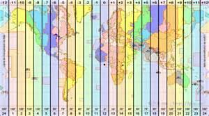 ici accueil monde carte fuseaux horaires pictures