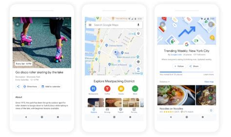 google images match google maps adds for you tab and your match recommendations