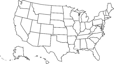 free usa map graphic usa map united 183 free vector graphic on pixabay