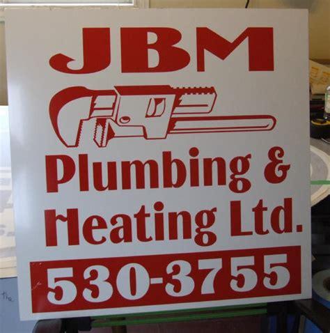 Jbm Plumbing pleasantville signs logos page