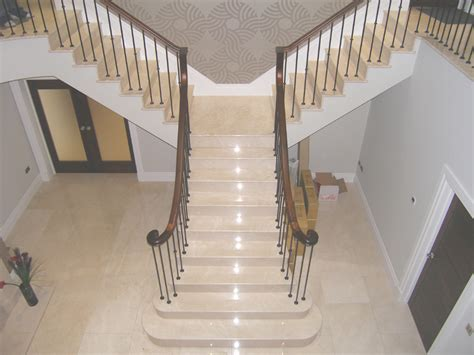marble staircase apartment architecture interior design beige marble