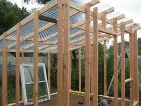 how to build a shed roof greenhouse ideas